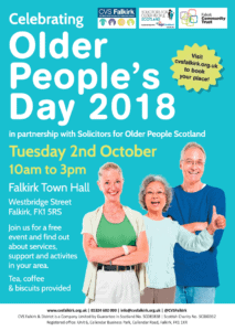 Older People's Day 2018 poster