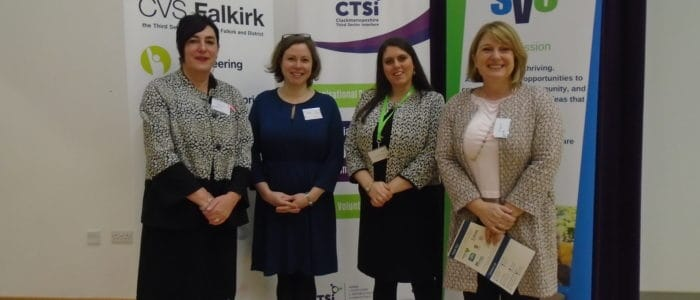 Anna Fowlie, Jen Kerr, Natalie Masterton and Anthea Coulter at #FVConf19