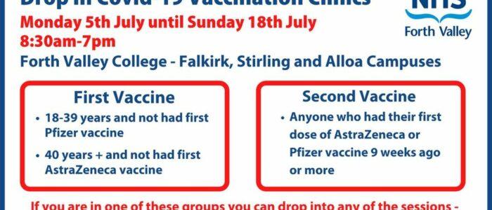 Vaccine Clinics 700x300